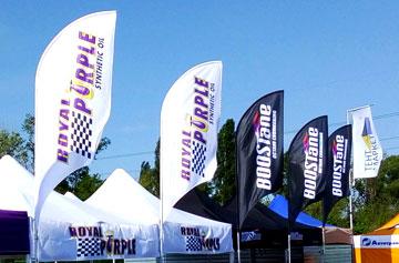 Рекламные флаги Виндеры изготовление - печать на фирменных флагах WINdER flag