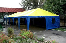 Универсальные шатры тенты классические разборные производство изготовление под заказ продажа